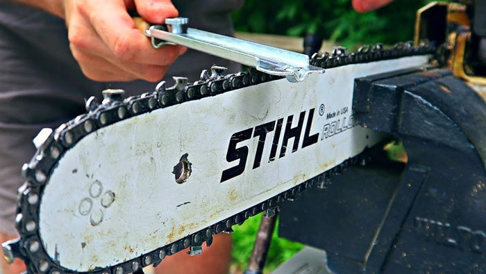 Manual Chainsaw Sharpener