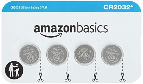 AmazonBasics CR2032 3 Volt Lithium Coin Cell