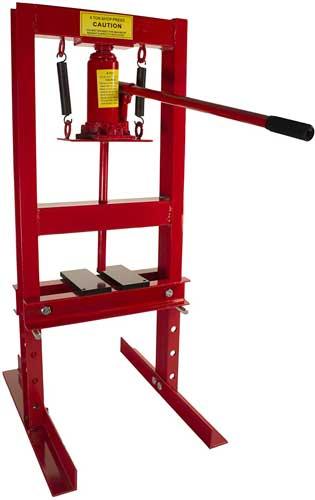 Dragway Tools 6-Ton Hydraulic Shop Floor Press