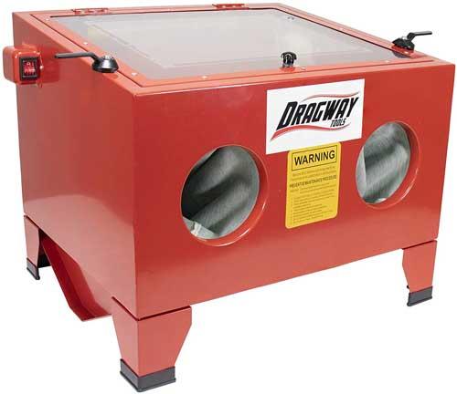 Dragway Tools Model 25 Sandblasting Cabinet
