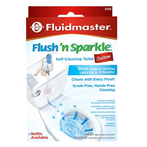 Fluidmaster Flush 'n Sparkle Automatic Toilet Bowl Cleaning System