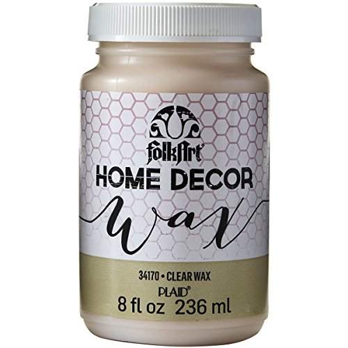 FolkArt Home Decor Chalk Clear Wax