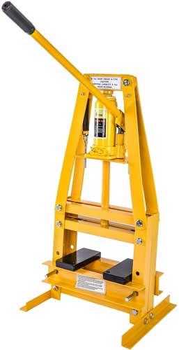 Jegs 81635 Hydraulic Shop Floor Press