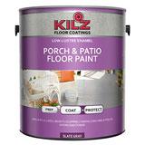 KILZ Interior/Exterior Enamel Porch & Patio Latex Floor Paint