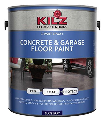 KILZ L377711 Concrete and Garage Floor Paint