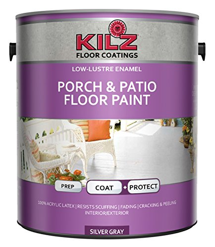 KILZ L573611 Enamel Porch and Patio Latex Floor Paint