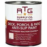 RTG Deck, Porch, Patio Anti-Slip Paint