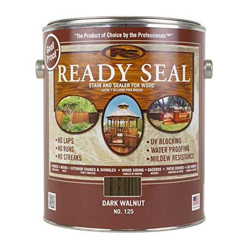 Ready Seal 125 1-Gallon Can Stain and Sealer for Wood