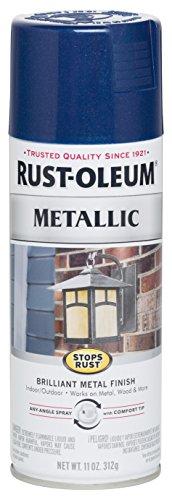 Rust-Oleum 7251830 Stops Rust Metallic Spray Paint