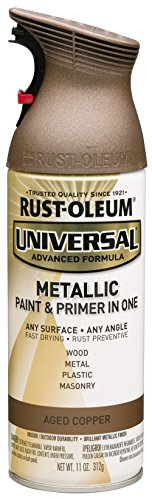 Rustoleum 249132 Universal Metallic 11 oz Spray Paint