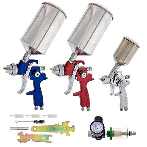 TCP Global HVLP Spray Gun Set