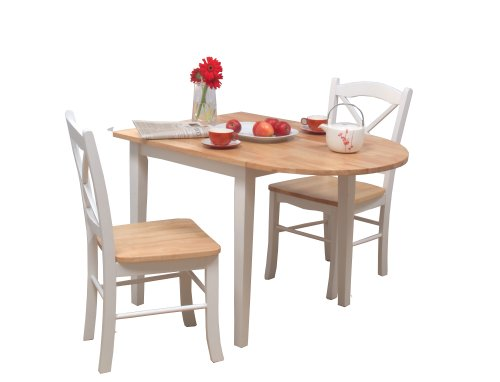 Target Marketing Systems 3 Piece Tiffany Country Cottage Dining Set
