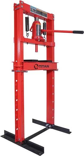 Titan 12 Ton Hydraulic Shop Floor Press