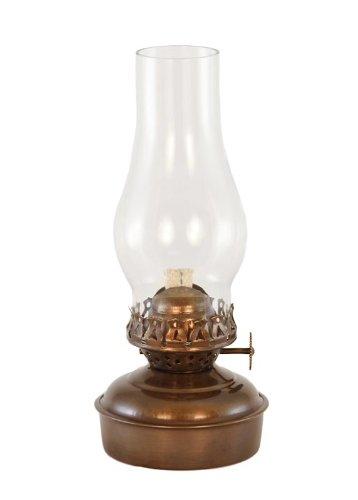 "Vermont Lanterns Brass Mini 7""- Small Oil Lamp"