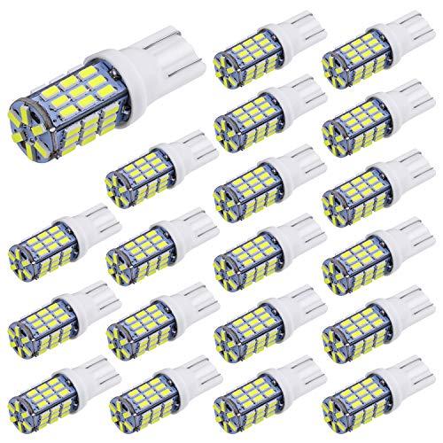 Aucan 20pcs Super Bright RV Trailer T10 921 194 42-SMD