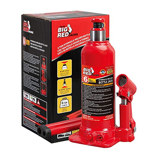 BIG RED Torin Hydraulic Welded Bottle Jack