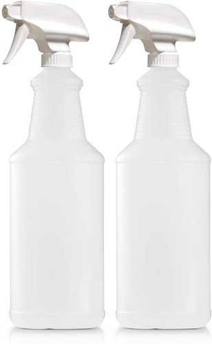 Bar5F Empty Plastic Spray Bottles