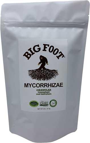 Big Foot Organic Mycorrhizal Granular Fungi Mycorrhizae Inoculant for Plant Root Growth Biochar, Worm Castings, Glomus Intaracides 2 lb