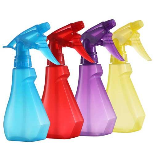 DilaBee Pack of 4-8 Oz Empty Plastic Spray Bottles