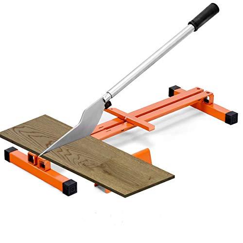 Goplus Vinyl Floor Cutter, Laminate Flooring Cutter for 8-inch & 12-inch Wide Floor