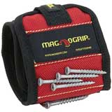 MagnoGrip 311-090 Magnetic Wristband, Red