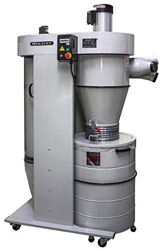 Megaton UB-3100VECK 3HP 208V Cyclone Dust Collector