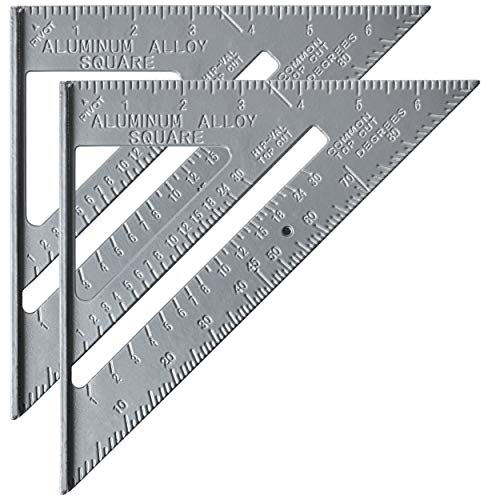 Mr. Pen Metal 7 Inches Rafter Square