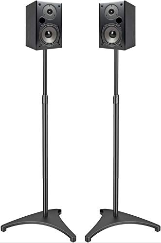 PERLESMITH Speaker Stands with Upgraded Cable Management