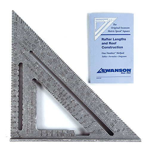 Swanson NA202 Metric Speed Square Layout Tool