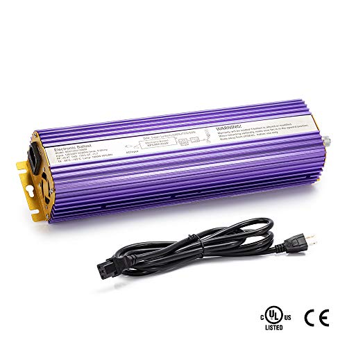TOPHORT 1000W Digital Dimmable Electronic Ballast