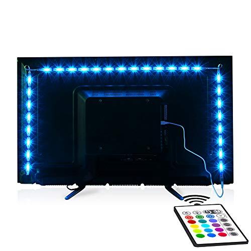 TV-LED-Backlight, Maylit Pre-Cut 6.56ft LED Strip Lights
