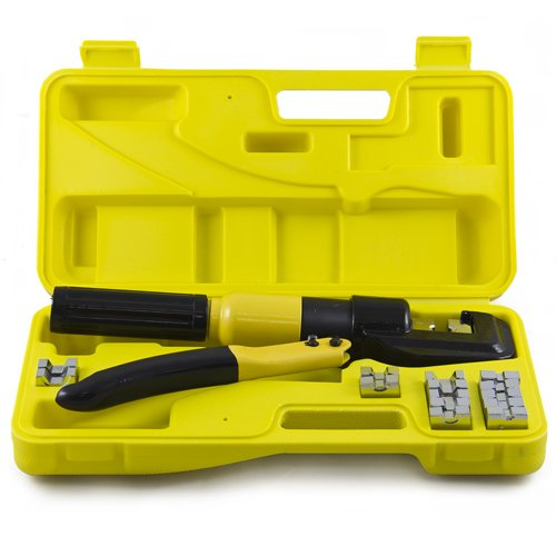 Best Choice Products 10 Ton Hydraulic Wire Battery Cable Lug Terminal Crimper Crimping Tool