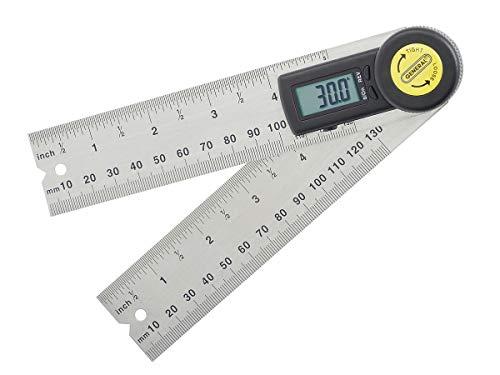 General Tools 822 Digital Angle Finder Rule
