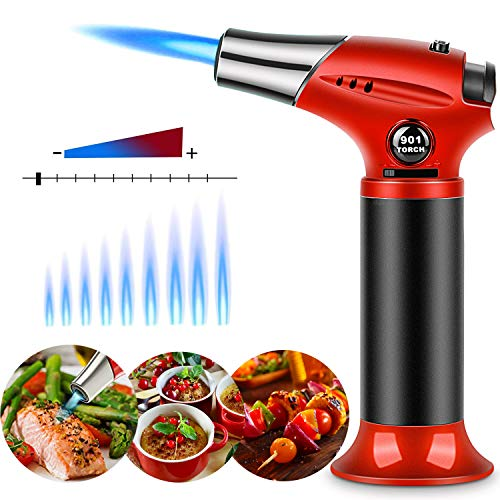 Kitchen Butane Torch Culinary Chef Cooking Blow-Torch Lighter