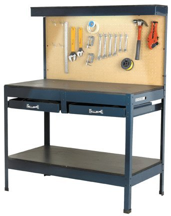 Multipurpose Reloading Bench with Lighting and Outlet