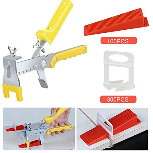 Premium Tile Leveling System With Push Pliers