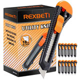 REXBETI 12-Pack Utility Knife