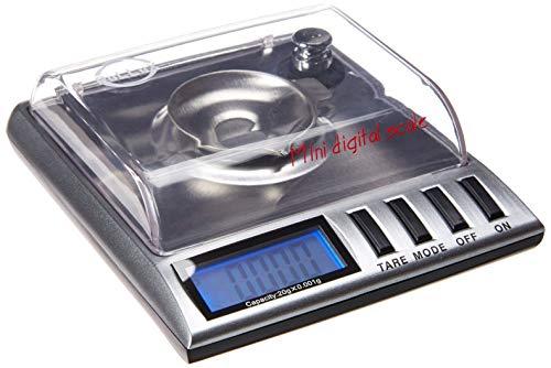 oLLux GEM20 High Precision Portable Milligram Digital Pocket Scale