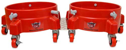 Detail King Double Bucket Dolly