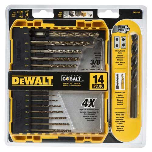 Dewalt's DWA 1240 Cobalt Drilling Bits