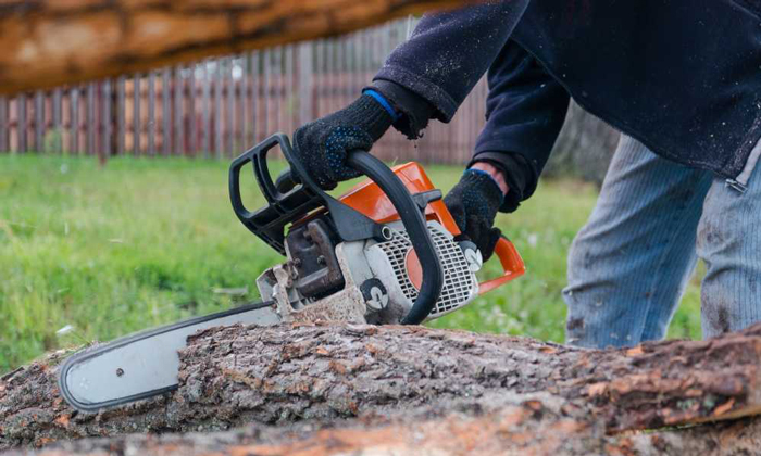 How to Start an Electric Starter Chainsaw