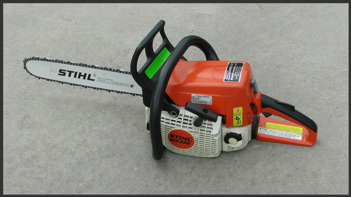 Chainsaw Keeps Coming off
