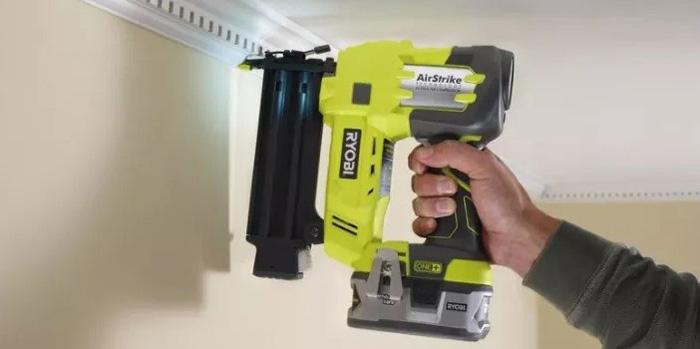 Nail Gun for Crown Molding